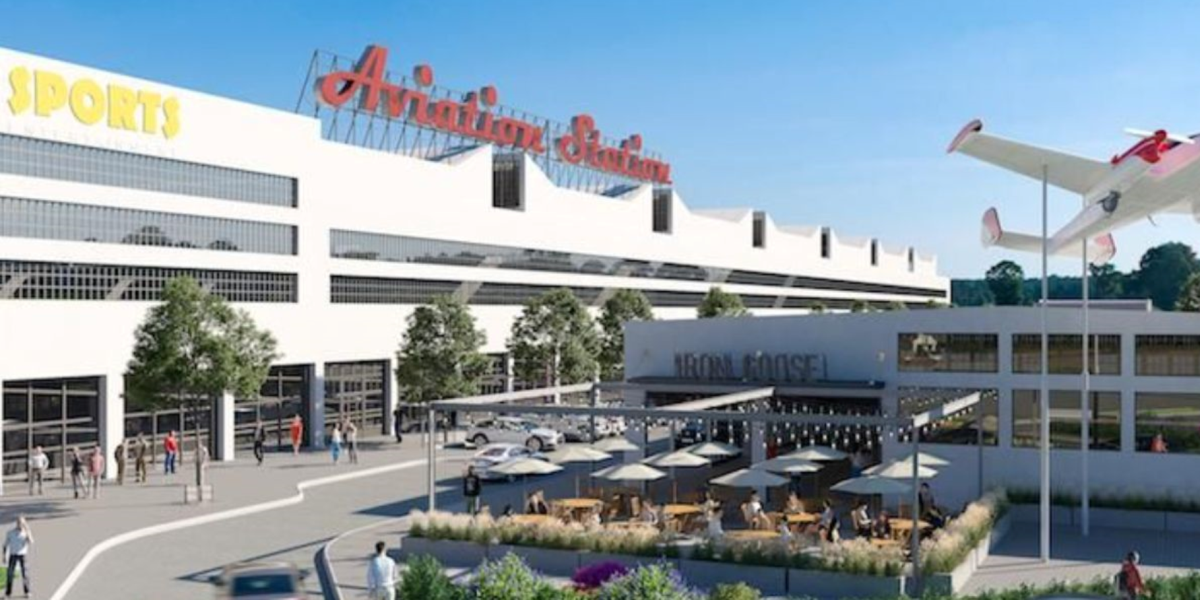 aviation station rendering