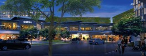 A rendering of the retail complex at CityPlace Doral. Related Group
