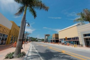 owntown Doral's Northwest 53rd St. is set to be the home of restaurants and retail shops. Photo taken on Wednesday, March 25. (PHOTO CREDIT: NICK SWYTER MIAMI HERALD STAFF)